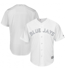 Blue Jays Blank White 2019 Players Weekend Player Jersey