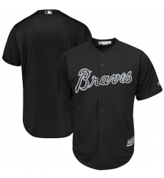 Braves Blank Black 2019 Players Weekend Authentic Player Jersey