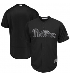 Phillies Blank Black 2019 Players Weekend Authentic Player Jersey