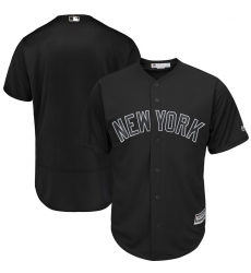 Yankees Blank Black 2019 Players Weekend Authentic Player Jersey