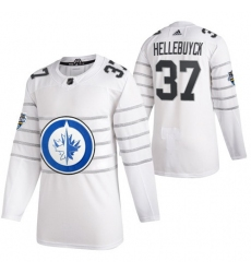 Jets 37 Connor Hellebuyck White 2020 NHL All Star Game Adidas Jersey