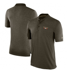 Men Chicago Bears Nike Olive Salute to Service Sideline Polo T Shirt