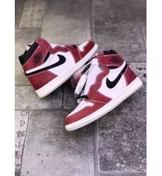 Men Jordan 1 MO Chicago Red White Freeze Out Shoes