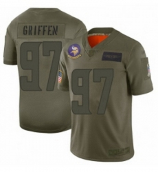 Men Minnesota Vikings 97 Everson Griffen Limited Camo 2019 Salute to Service Football Jersey