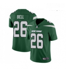Mens New York Jets 26 Le Veon Bell Green Team Color Vapor Untouchable Limited Player Football Jersey