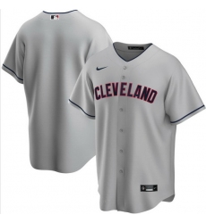 Men Cleveland Indians Nike Gray Blank Jersey