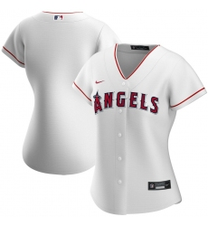 Los Angeles Angels Nike Women Home 2020 MLB Team Jersey White