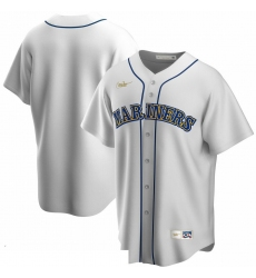 Men Seattle Mariners Nike Home Cooperstown Collection Team MLB Jersey White