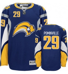 Buffalo Sabres Pominville Jersey #29 Blue NEW Third Jersey