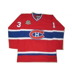nhl jerseys Montreal Canadiens #31 price red(winter classic)