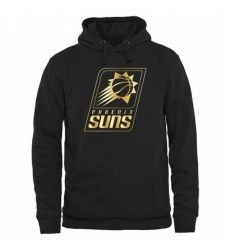 NBA Mens Phoenix Suns Gold Collection Pullover Hoodie Black