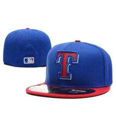 Texas Rangers Fitted Cap 002