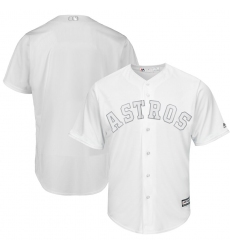 Astros Blank White 2019 Players Weekend Player Jersey