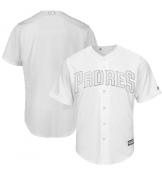 Padres Blank White 2019 Players Weekend Player Jersey