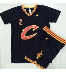 Cavaliers #2 Kyrie Irving Black 2016  final suits nba jerseys 5311 48405