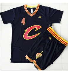 Cavaliers #4 Iman Shumpert Black 2016  final suits nba jerseys