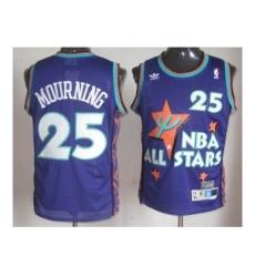 NBA 95 All Star #25 Mourning Purple Jerseys