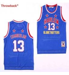 WILT CHAMBERLAIN 13 HARLEM GLOBETROTTERS BASKETBALL JERSEY