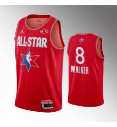 Celtics 8 Kemba Walker Red 2020 NBA All Star Jordan Brand Swingman Jersey