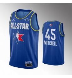 Jazz 45 Donovan Mitchell Blue 2020 NBA All Star Jordan Brand Swingman Jersey
