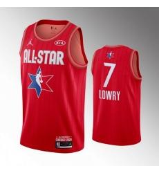 Raptors 7 Kyle Lowry Red 2020 NBA All Star Jordan Brand Swingman Jersey