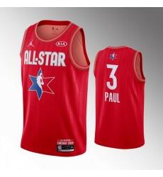 Thunder 3 Chris Paul Red 2020 NBA All Star Jordan Brand Swingman Jersey