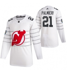 Devils 21 Kyle Palmieri White 2020 NHL All Star Game Adidas Jersey