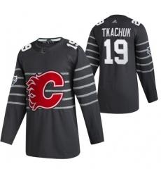 Flames 19 Matthew Tkachuk Gray 2020 NHL All Star Game Adidas Jersey