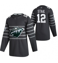Wild 12 Eric Staal Gray 2020 NHL All Star Game Adidas Jersey