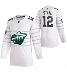 Wild 12 Eric Staal White 2020 NHL All Star Game Adidas Jersey