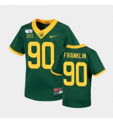 Men Baylor Bears Tj Franklin Untouchable Green College Football Jersey
