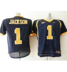 Golden Bears #1 DeSean Jackson Blue Embroidered NCAA Jersey