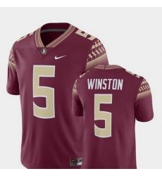 Men Florida State Seminoles Jameis Winston Garnet Alumni Football Game Player Jersey