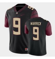 Men Florida State Seminoles Peter Warrick College Football Black Alternate Game Jersey