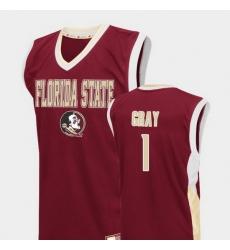Men Florida State Seminoles Raiquan Gray Red Fadeaway College Basketball Jersey
