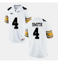 Men Tevaun Smith White Iowa Hawkeyes Alumni Football Game Jersey