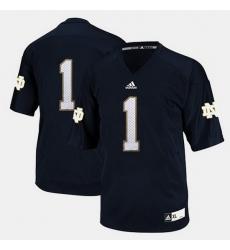 Men Notre Dame Fighting Irish Louis Nix Iii College Football Blue Jersey