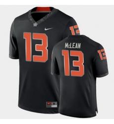 Men Oklahoma State Cowboys Nolan Mclean College Football Black Game Jersey