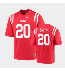 Men Ole Miss Rebels Keidron Smith College Football Red Game Jersey