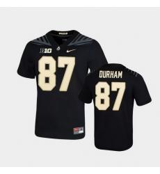 Men Purdue Boilermakers Payne Durham Game Football Black Jersey