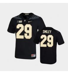 Men Purdue Boilermakers Simeon Smiley Game Football Black Jersey