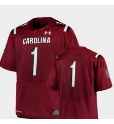 Men South Carolina Gamecocks Garnet College Football Team Replica Jersey