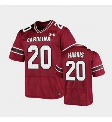 Men South Carolina Gamecocks Kevin Harris Replica Garnet Football Jersey