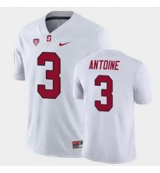 Men Stanford Cardinal Malik Antoine Game White College Football Jersey