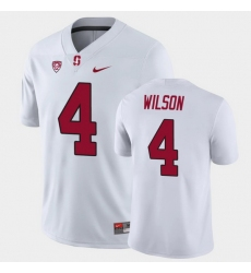 Men Stanford Cardinal Michael Wilson Game White College Football Jersey