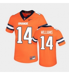 Men Syracuse Orange Garrett Williams Untouchable Game Orange Jersey