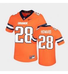 Men Syracuse Orange Jarveon Howard Untouchable Game Orange Jersey