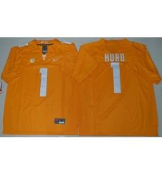 Tennessee Vols 1 Jalen Hurd Dobbs Orange College Jersey