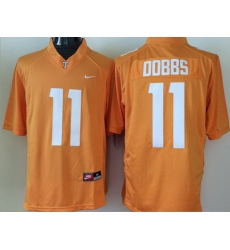 Vols #11 Joshua Dobbs Orange Stitched NCAA Jersey