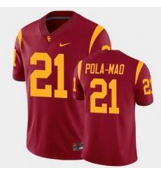 Men Usc Trojans Isaiah Pola Mao College Football Cardinal Alumni Player Game Jersey